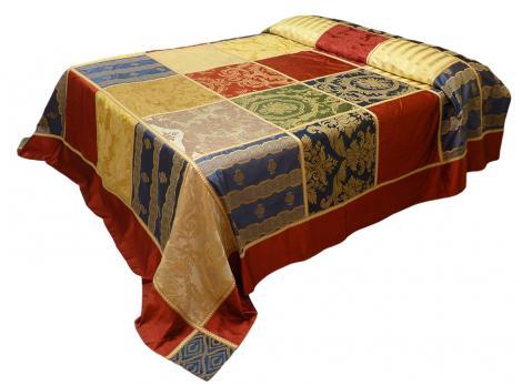 Copriletto Matrimoniale In Seta Di San Leucio 100 Santa Maria Capua 017999208239