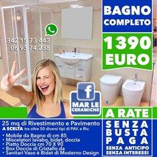Offerta Bagno Completo 1.390 € - Bagno Moderno - Lanuvio ...