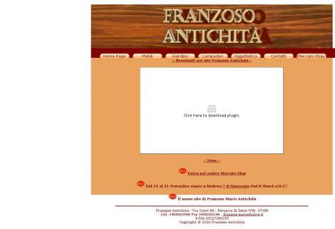 Franzoso mario antichit zevio verona veneto for Produttori mobili veneto