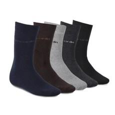 6 o 12 paia Pierre Cardin calze calze da uomo Busines da uomo nere