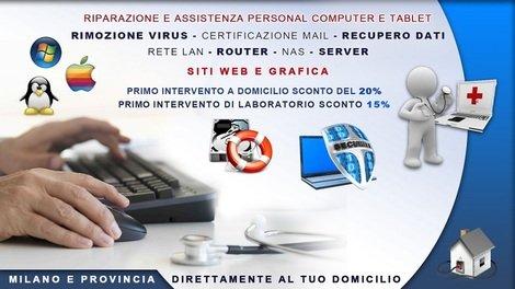 Assistenza computer Windows e Mac