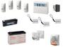 kit completo impianto di allarme con installazione a foggia di marca Bentel sistemi di sicurezza